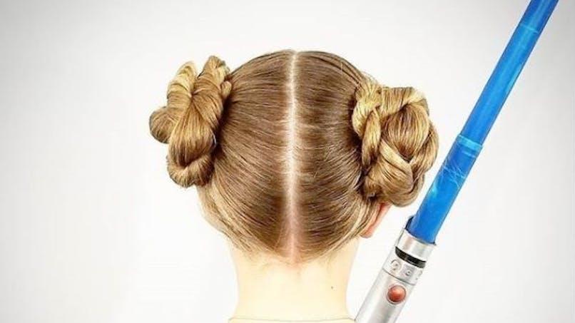 8 coiffures pour fille inspirées de la saga Star Wars (diapo)