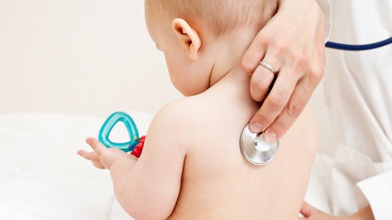 La bronchiolite chez le bébé