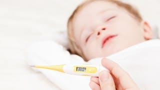 Bébé a de la fièvre