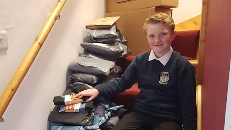 À 11 ans, cet enfant a eu une jolie idée pour aider les sans-abris