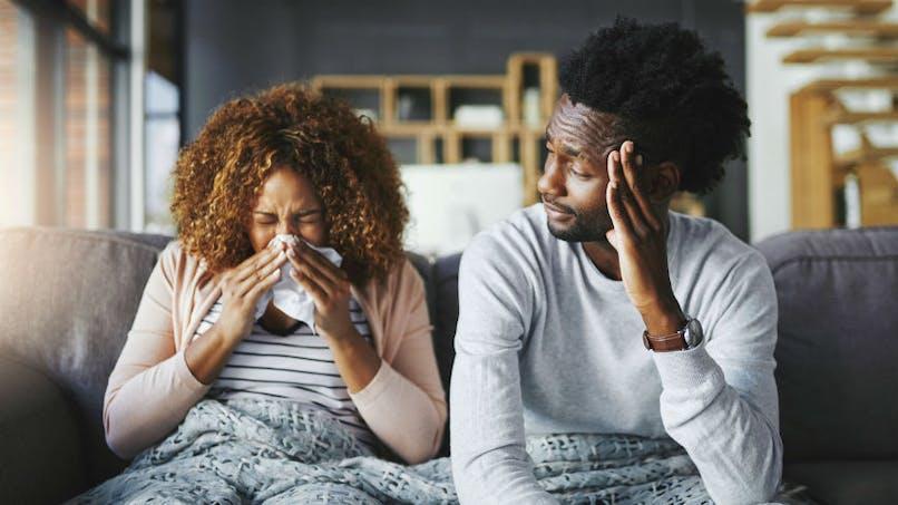 La grippe peut être transmise par la respiration