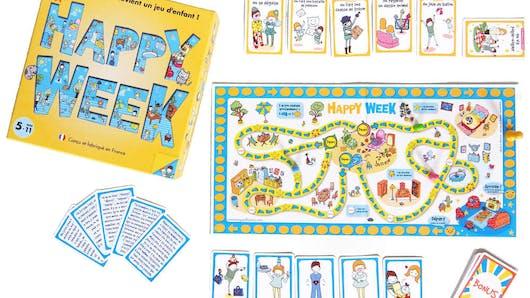 Happy Week: un jeu familial pour que les routines du quotidien ne soient plus une corvée.