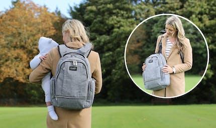 Wolffepack Luna : le sac à langer qui va changer le quotidien des jeunes parents.