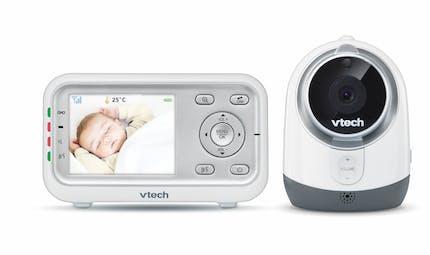 Le Babyphone Safe & Sound Babyphone video perfect BM3300 de VTECH