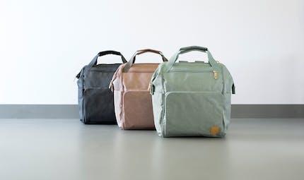 Le sac à langer Goldie Backpack de LASSIG