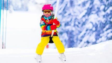 Ski : les premiers cours pour enfants