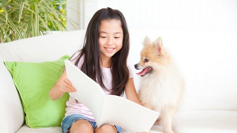 Apprentissage de la lecture: aux Etats-Unis, elle se fait en compagnie des chiens