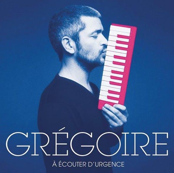 pochette CD chanteur Grégoire