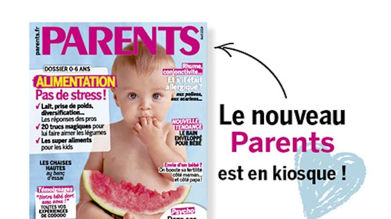 Le nouveau Parents (avril) est sorti !