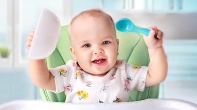 Alimentation bébé 8 à 12 mois   PARENTS.fr cfeb14a9cdc