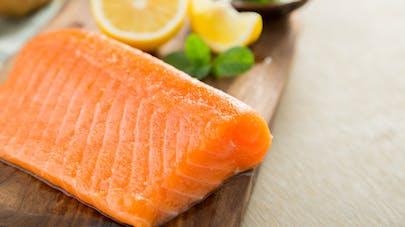 pavé de saumon et vitamine D