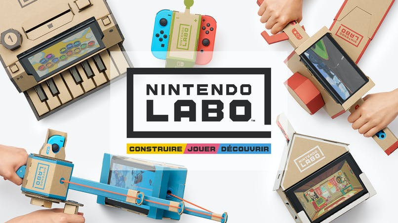 Nintendo Labo : une expérience de jeu sans précédent à la frontière entre DIY et jeux vidéo !