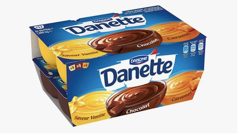 Danone rappelle des crèmes Danette