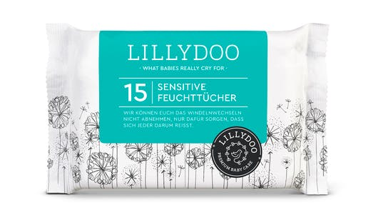 Les Lingettes Peaux sensibles de LILLYDOO
