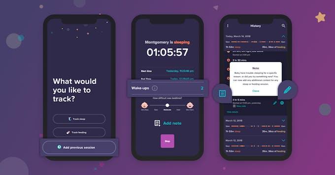 écrans application Nod