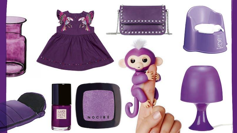 Le violet, c'est tendance ! (diaporama)