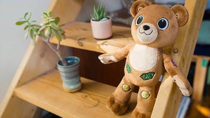 Jerry, l'ourson interactif pour accompagner les enfants qui ont un diabète de type 1.