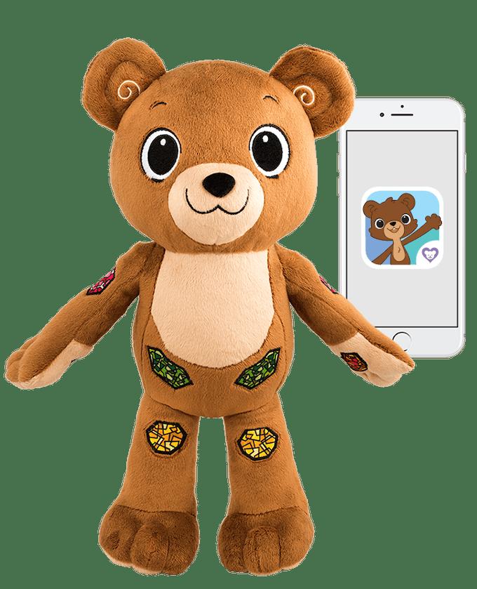Jerry l'ourson et application mobile