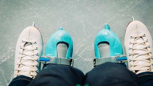 Le patinage en famille