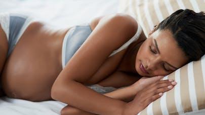 femme enceinte sieste