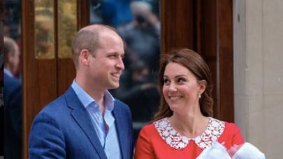 Kate Middletonn le prince William et le 3ème bébé royal