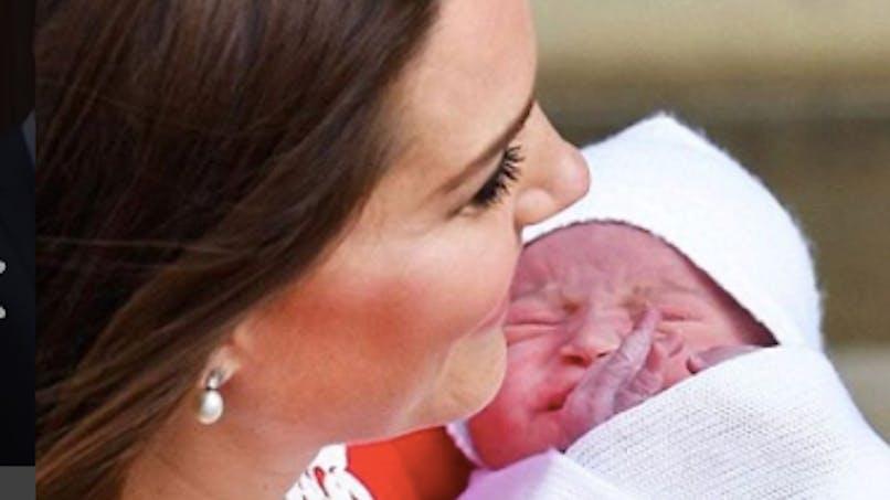 Le bébé de Kate et William s'appelle...