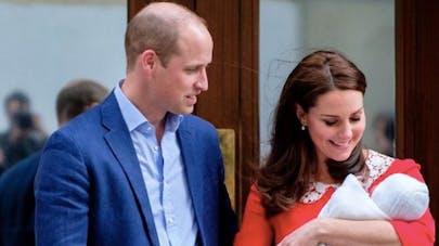Le prince Louis, Kate Middleton et le Prince Charles