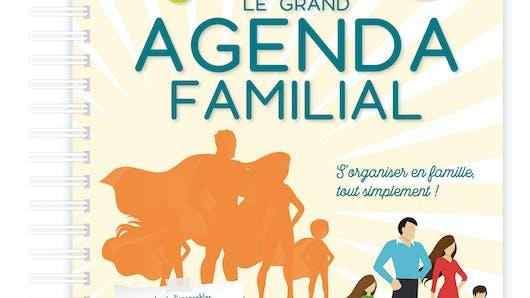 Le Grand Agenda Familial 2018-2019 de FLEURUS !