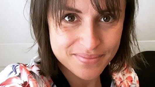 Julie Ferrez: maman pour la première fois