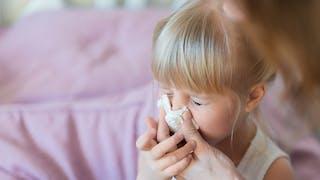 Bébé saigne du nez