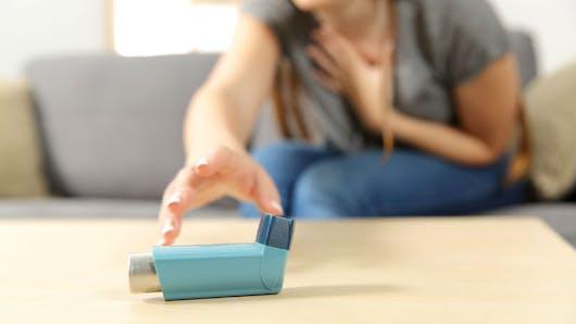 En période d'allergie, les orages peuvent favoriser les pics d'asthme