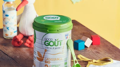 good gout lait dha
