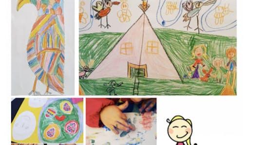 Dessins d'enfants: une appli pour les digitaliser et les garder