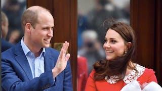 Prince William, Kate Middleton, Prince Louis