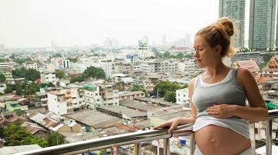 femme enceinte et pollution