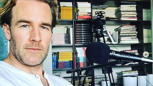 James Van Der Beek, papa pour la cinquième fois, pousse un coup de gueule sur Instagram