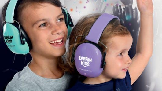 Audition: un casque anti-bruit spécialement conçu pour les enfants