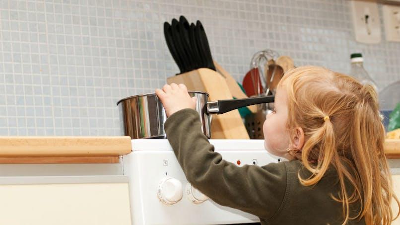 Brûlures domestiques: les enfants de moins de 5 ans sont les plus touchés