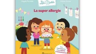 livre  sur l'allergie pour les enfants