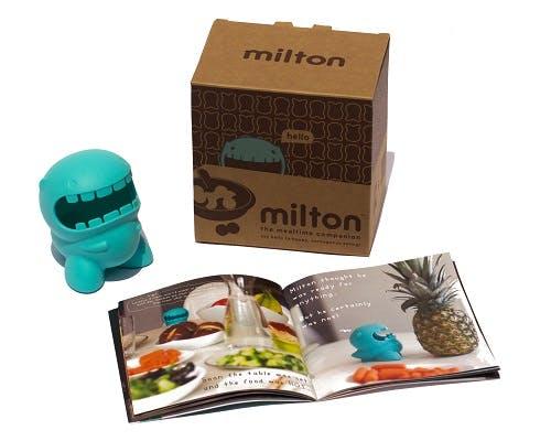 Milton monstre et livre