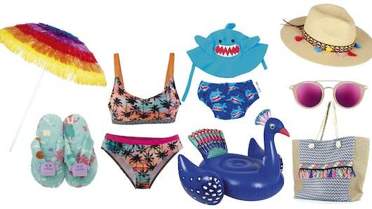 Shopping vacances : tous à la plage !