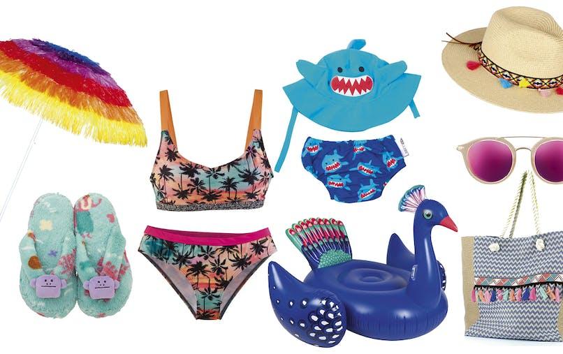 shopping plage vacances