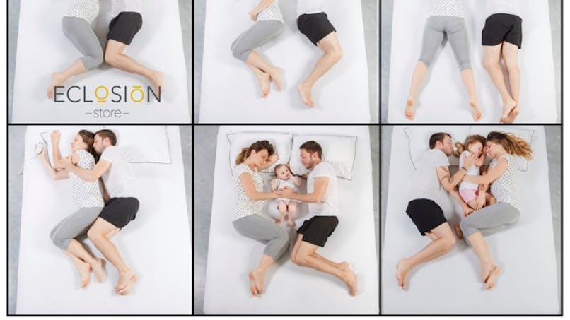 Le matelas Eclosion, un matelas évolutif pour les futurs et jeunes parents