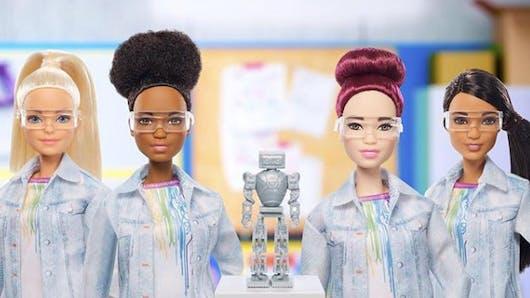 Barbie est ingénieure en robotique!
