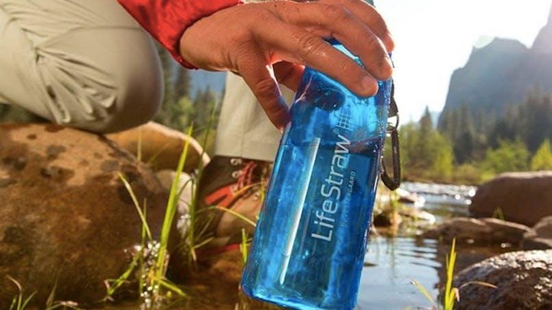 La gourde LifeStraw Go : pour avoir de l'eau potable partout durant les vacances !