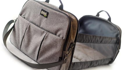 Pod, le sac à langer qui se transforme en lit de voyage pour bébé !