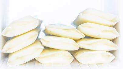 stock de lait maternel