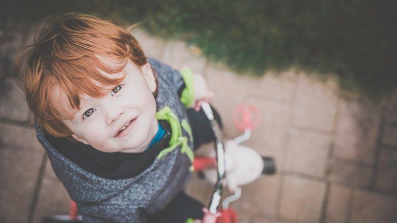 Rappel d'un vélo-porteur pour enfant