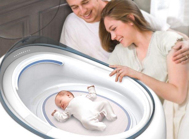 couveuse maison bébé avec parents