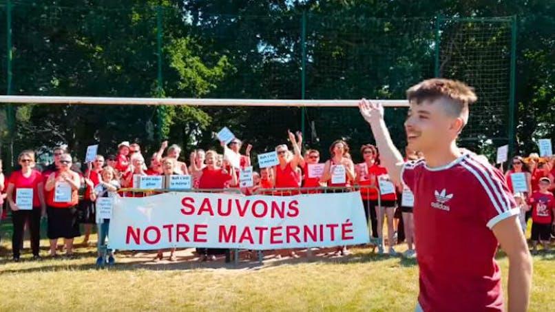 La maternité de Guingamp a désormais son clip sur YouTube !